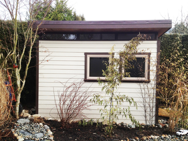 north vancouver 8x12 garden shed contemporary garden shed and building
