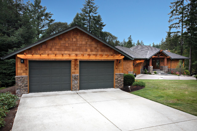 Northwest Contempory Exterior Remodel - Traditional - Garage And Shed - other metro - by Nordby ...