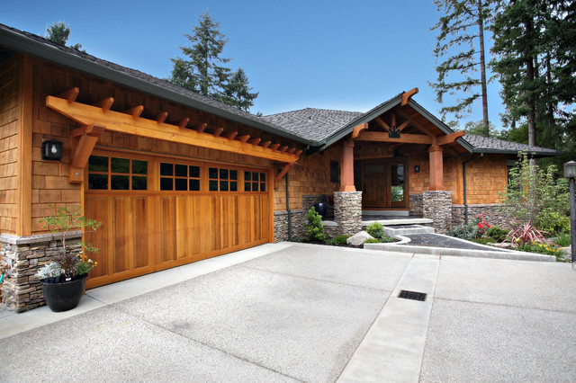 Northwest Contempory Exterior Remodel Traditional