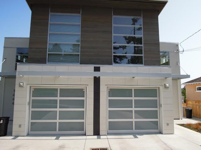 Northwest Door Full View Aluminum Modern Classic Garage Door