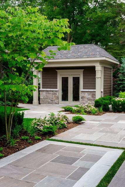 Oakville Landscape Renovation Traditional Shed Toronto By