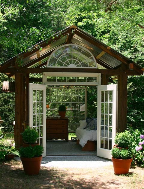 Inspiration for an eclectic shed remodel in Boise