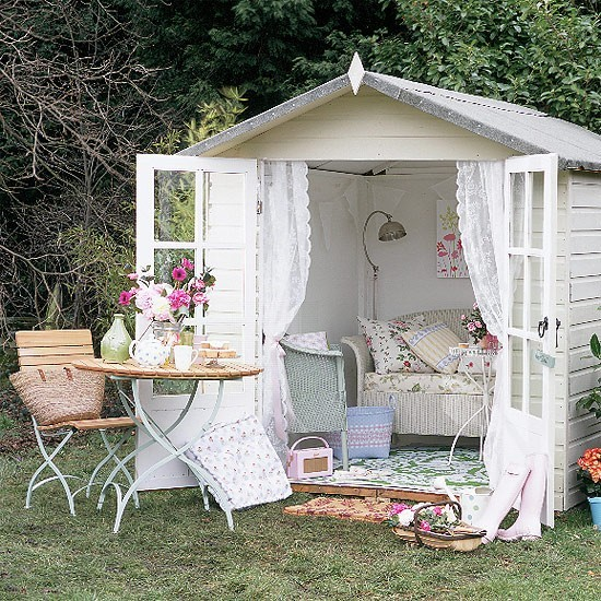 Example of an eclectic shed design in Boise