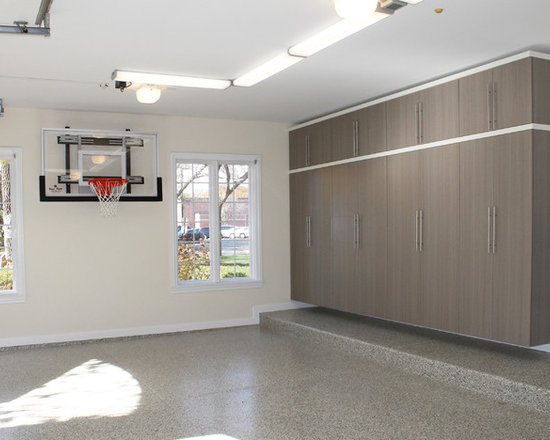 Basketball hoop garage and shed design ideas pictures for Basketball garage