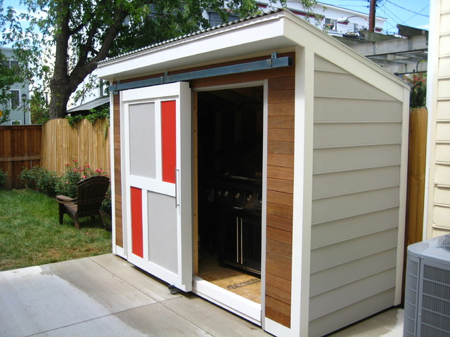 OLD TOWN SHED contemporary-garage-and-shed