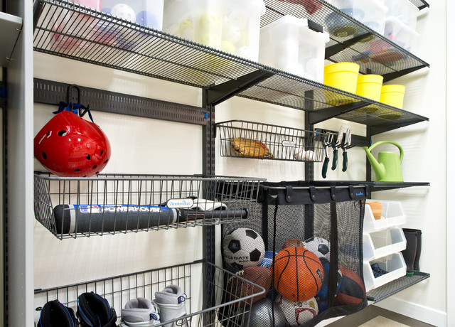 Organized Living freedomRail Garage Storage - Traditional - Shed ...