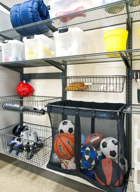 Organized Living freedomRail Garage Storage traditional-shed