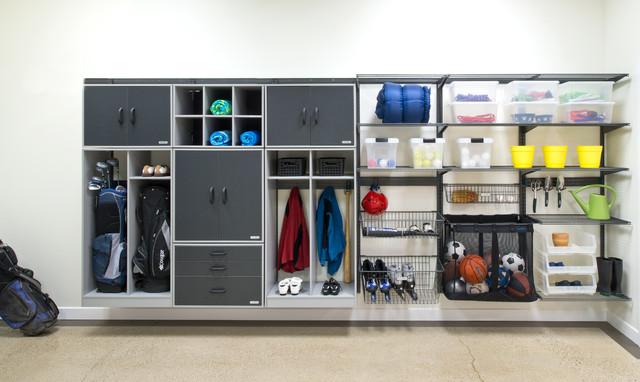 Organized Living freedomRail Garage Storage - Traditional - Shed - Cincinnati - by Organized Living