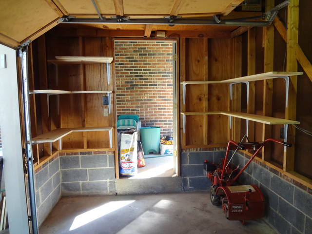 Organizing Garage Traditional Shed Charlotte By