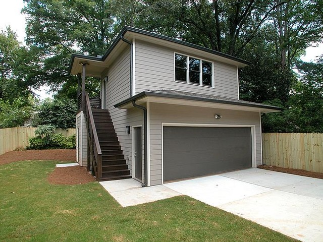Outdoor Living Hardscapes Modern Shed Atlanta By
