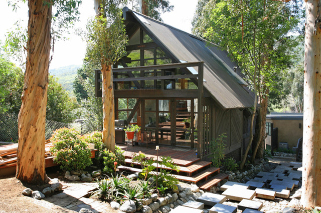 Outdoor Living Contemporary Garage And Shed Other