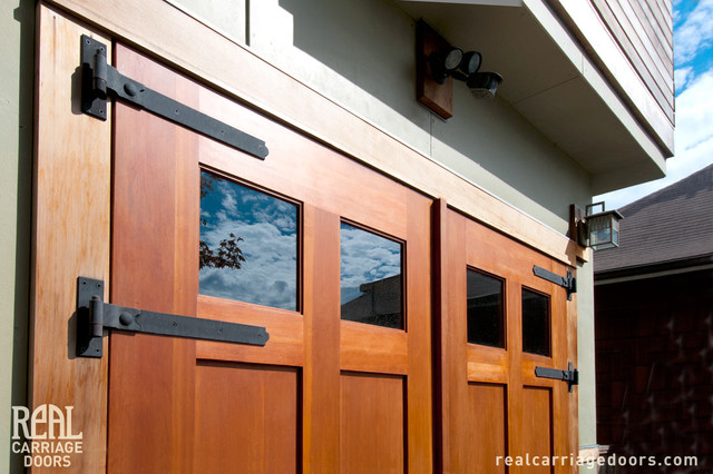 Example Of A Minimalist Shed Design In Seattle. Email Save. Real Carriage  Door Company
