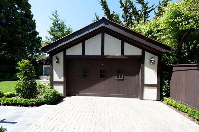 Palo Alto Tudor traditional-shed