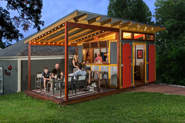 Party Shed Farmhouse Shed Milwaukee By Edmunds
