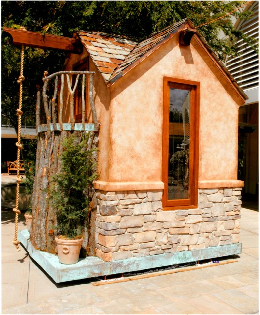 Playhouse eclectic-exterior