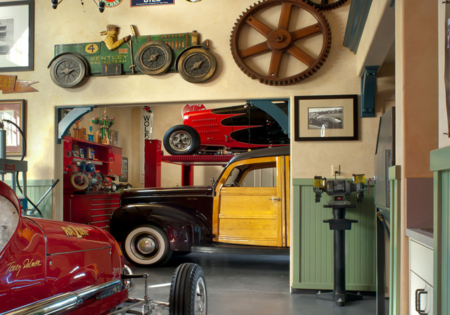 Pomello residence traditional shed other by hartmanbaldwin design build - Decoration garage maison ...