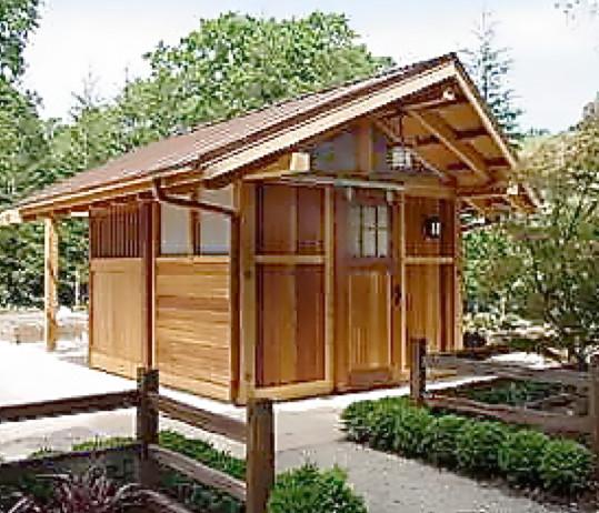Pool House Japanese Bath House Asian Granny Flat Or