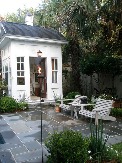 Pictures Of Backyard Garden Sheds : Traditional Garage And Shed by Charleston General Contractor Kirk Wood