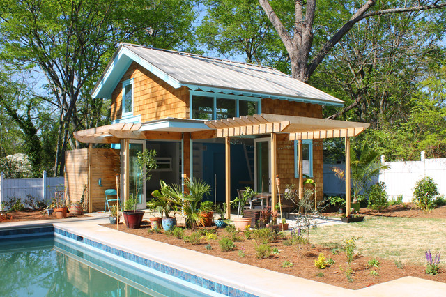 poolhaus beach style granny flat or shed pool house kits