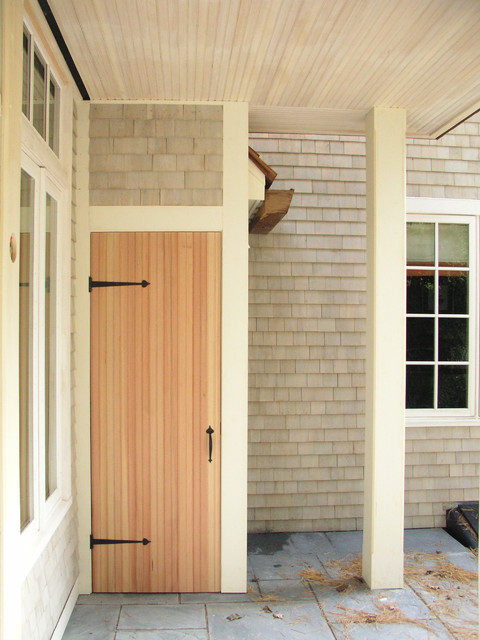 Porch shed eclectic-exterior