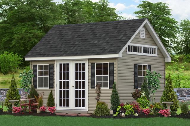 Premier Garden Sheds and Garages - Traditional - Shed ...