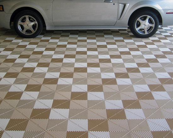 Premier Flex Rubber Garage Floor -