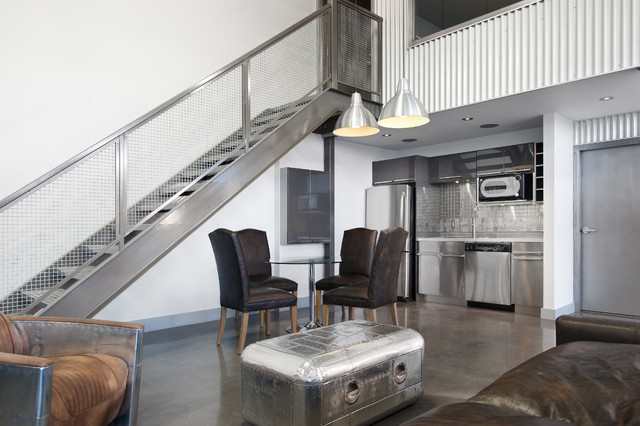 Private airplane hangar contemporary garage and shed for Aircraft hangar home designs