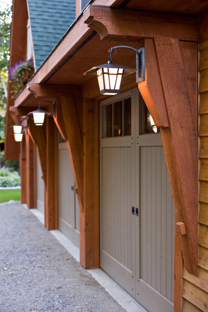 Pulaski carriage house traditional shed minneapolis for Murphy garage doors