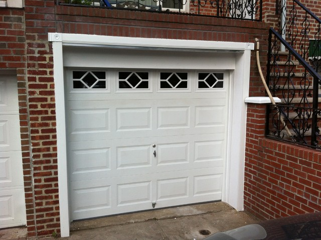 Pvc Garage Door Trim Traditional Garage And Shed New