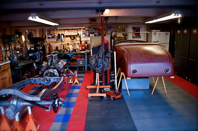Cool Garage Designs Car Pictures Car Canyon