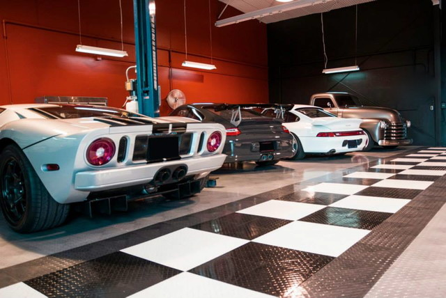 Racedeck Garage Flooring Ideas Cool Garages With Cool