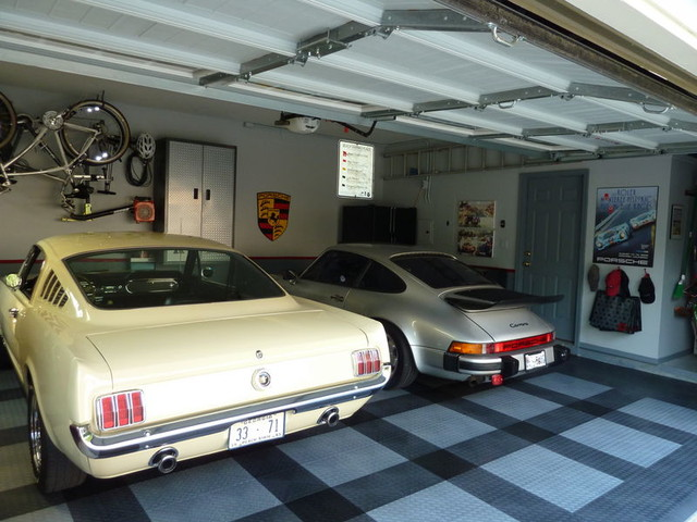 RaceDeck Garage Flooring Ideas Cool Garages With