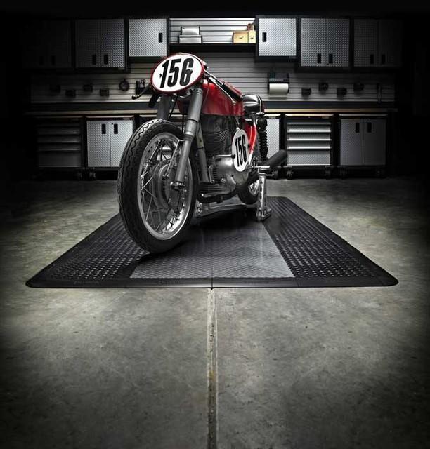 RaceDeck Motorcycle Garage Flooring