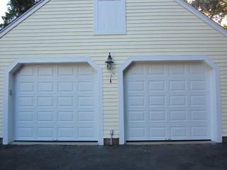 ... - Traditional - Garage And Shed - boston - by Mortland Overhead Door