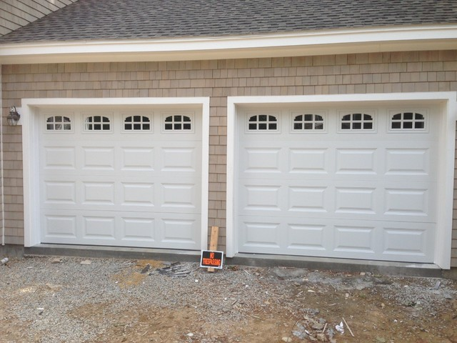 Raised Panel Steel Insulated Garage Doors Traditional