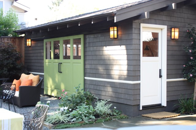 traditional garage and shed by helena barrios vincent aia leed ap