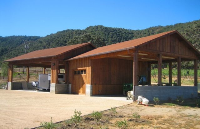 Ranch Outbuildings traditional-garage-and-shed