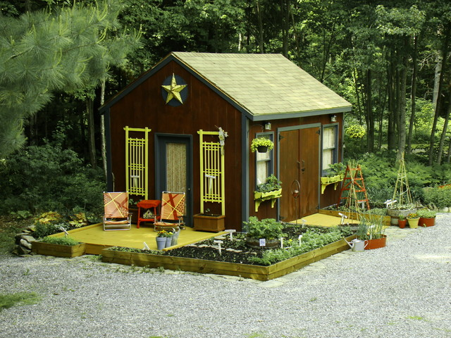Ready, Set, GROW! rustic-garage-and-shed