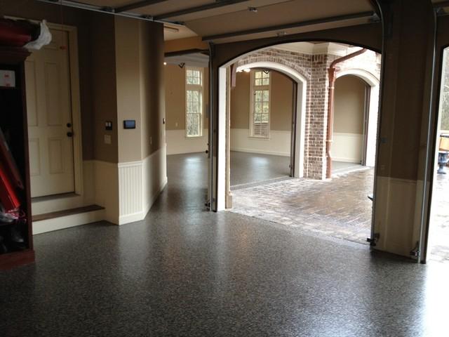 Recent Granite Garage Floor Installs Mediterranean
