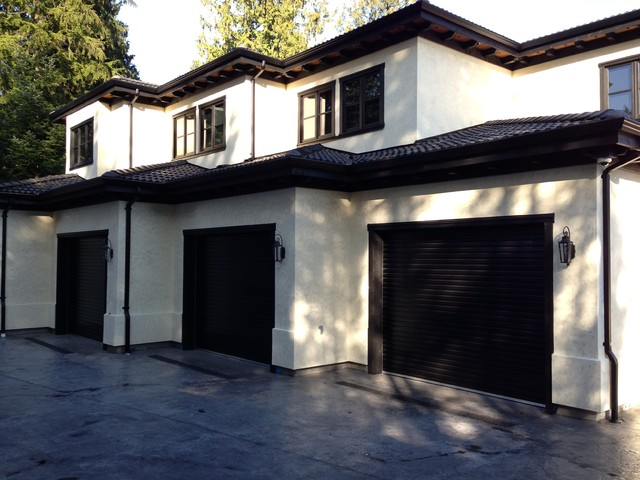 Roll Up Residential Garage Doors : Residential garage decor home design and interior