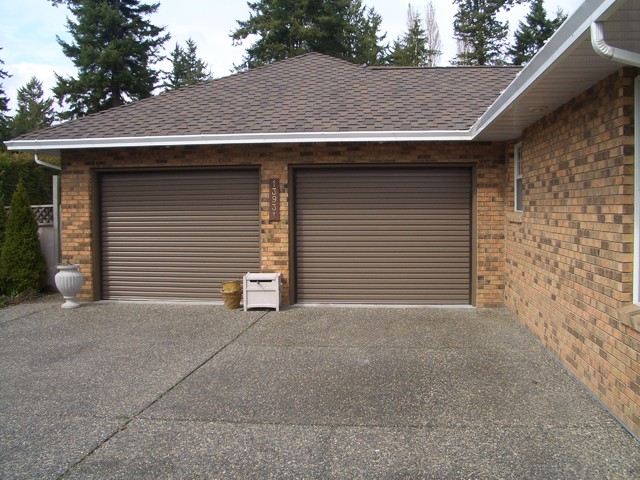Residential Roll Up Garage Doors Shed Vancouver By Smart