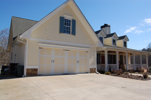 Rollins Custom Built Home Traditional Garage And Shed