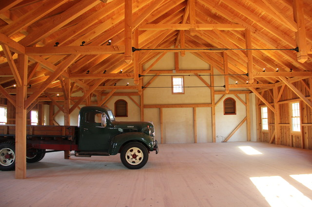 Rustic Bank Barn Chester County Pa Traditional Shed