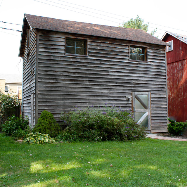 Fourth Street - Rustic - Shed - New York - by Revival Construction