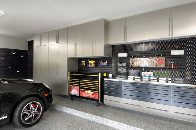 Schumacher contemporary garage and shed chicago by for Garage schumacher metz