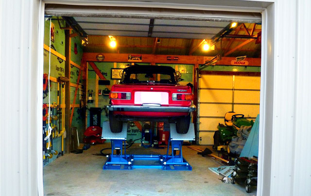 Scissor Lift For Home Garage Shed Philadelphia By