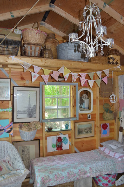 shabby chic shed eclectic garden shed and building