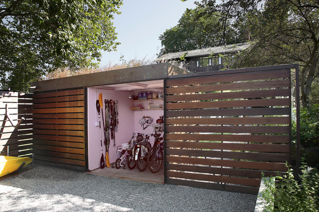 Shed And Yard Contemporary Shed Seattle By Shed Architecture