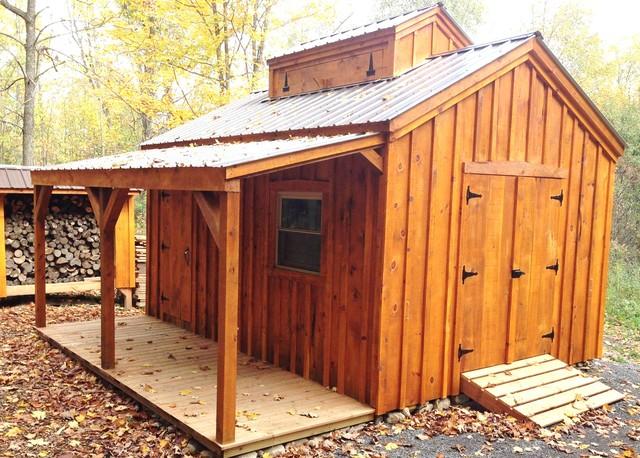 Shed garden farm kits sugar shack 10 39 x 16 for Traditional barn kits
