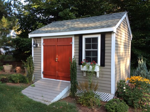 27 Gorgeous Landscaping Around Shed Ideas With Pictures